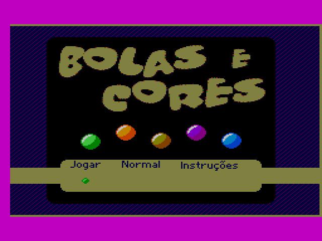 Bolas e Cores (Master System) - TecToy