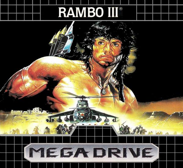 Rambo III (Mega Drive) - TecToy