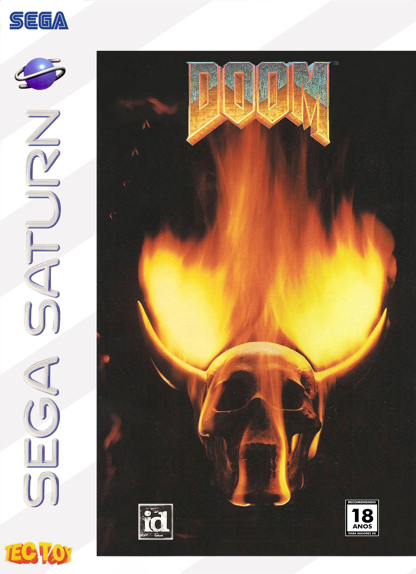 Doom- capa sega Saturno.