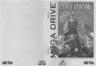 Capa manual Duke Nukem 3d MD.jpg