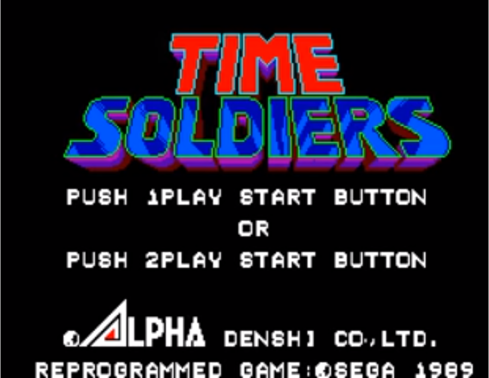 Time Soldiers - TecToy