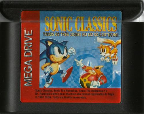 Sonic Classics - TecToy