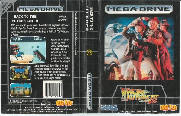 Back to the Future part III (Mega Drive) - TecToy