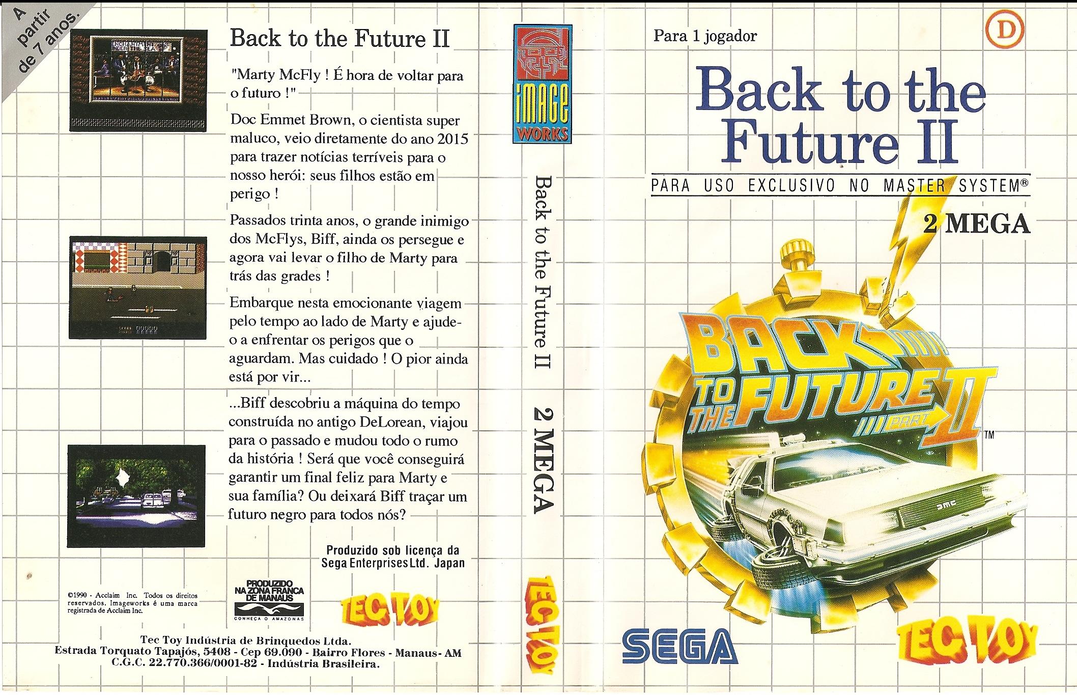 Back to the Future II - TecToy