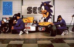 SEGA e a equipe Williams